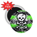 Deathrock Skull 2.25  Magnet (10 pack)