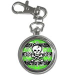Deathrock Skull Key Chain Watch