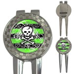 Deathrock Skull 3-in-1 Golf Divot