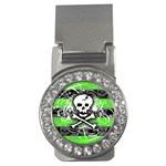 Deathrock Skull Money Clip (CZ)