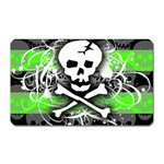 Deathrock Skull Magnet (Rectangular)