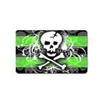 Deathrock Skull Magnet (Name Card)