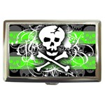 Deathrock Skull Cigarette Money Case