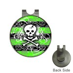 Deathrock Skull Golf Ball Marker Hat Clip