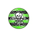 Deathrock Skull Hat Clip Ball Marker