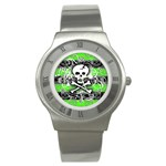 Deathrock Skull Stainless Steel Watch