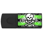 Deathrock Skull USB Flash Drive Rectangular (4 GB)