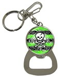Deathrock Skull Bottle Opener Key Chain