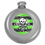 Deathrock Skull Hip Flask (5 oz)