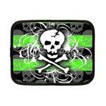 Deathrock Skull Netbook Case (Small)