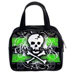 Deathrock Skull Classic Handbag (Two Sides)