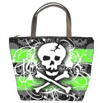 Deathrock Skull Bucket Bag