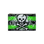 Deathrock Skull Cosmetic Bag (Small)