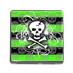 Deathrock Skull Memory Card Reader with Storage (Square)