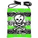 Deathrock Skull Shoulder Sling Bag