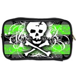 Deathrock Skull Toiletries Bag (Two Sides)