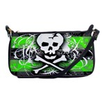 Deathrock Skull Shoulder Clutch Bag