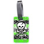 Deathrock Skull Luggage Tag (two sides)