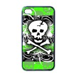 Deathrock Skull Apple iPhone 4 Case (Black)