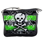 Deathrock Skull Messenger Bag