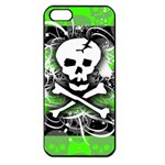 Deathrock Skull Apple iPhone 5 Seamless Case (Black)