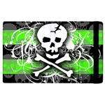 Deathrock Skull Apple iPad 3/4 Flip Case