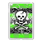 Deathrock Skull Apple iPad Mini Case (White)