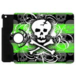 Deathrock Skull Apple iPad Mini Flip 360 Case
