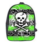 Deathrock Skull School Bag (XL)