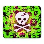 Deathrock Skull & Crossbones Large Mousepad