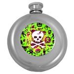 Deathrock Skull & Crossbones Hip Flask (5 oz)