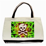 Deathrock Skull & Crossbones Classic Tote Bag (Two Sides)