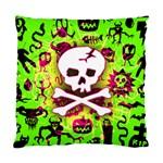 Deathrock Skull & Crossbones Cushion Case (Two Sides)