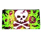 Deathrock Skull & Crossbones Pencil Case