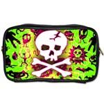 Deathrock Skull & Crossbones Toiletries Bag (Two Sides)