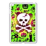 Deathrock Skull & Crossbones Apple iPad Mini Case (White)