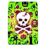 Deathrock Skull & Crossbones Removable Flap Cover (Large)