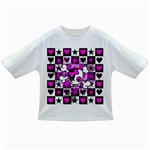 Emo Scene Girl Skull Infant/Toddler T-Shirt