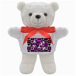 Emo Scene Girl Skull Teddy Bear