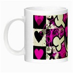 Emo Scene Girl Skull Night Luminous Mug
