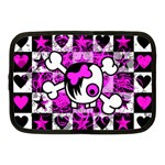 Emo Scene Girl Skull Netbook Case (Medium)
