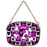 Emo Scene Girl Skull Chain Purse (Two Sides)