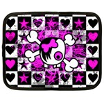 Emo Scene Girl Skull Netbook Case (XL)