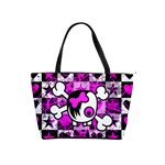 Emo Scene Girl Skull Classic Shoulder Handbag