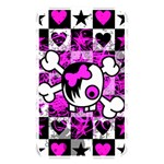 Emo Scene Girl Skull Memory Card Reader (Rectangular)