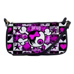 Emo Scene Girl Skull Shoulder Clutch Bag