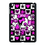 Emo Scene Girl Skull Apple iPad Mini Case (Black)