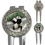Let Me Kiss You Pandas In Love 3-in-1 Golf Divot