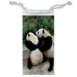 Let Me Kiss You Pandas In Love Jewelry Bag