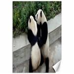 Let Me Kiss You Pandas In Love Canvas 12  x 18